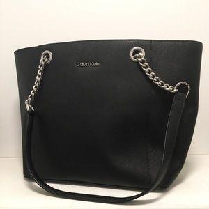 Calvin Klein Saffiano Leather Bag